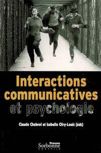 Interactions communicatives et psychologie