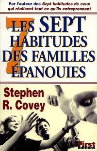 Les 7 habitudes des familles épanouies