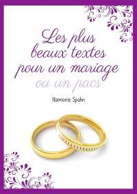 Les plus beaux textes pour un mariage ou un Pacs