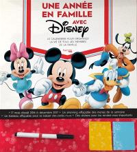 Une année en famille avec Disney : le calendrier pour organiser la vie de toute la famille