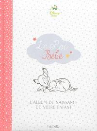 Le roi bébé : l'album de naissance de votre enfant