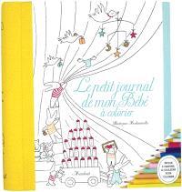 Le petit journal de mon bébé : à colorier