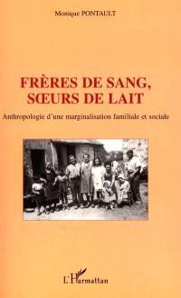 Frères de sang, soeurs de lait : anthropologie d'une marginalisation familiale et sociale