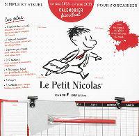 Le Petit Nicolas : calendrier familial : septembre 2014-septembre 2015