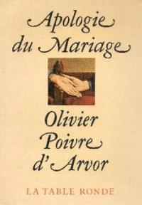 Apologie du mariage