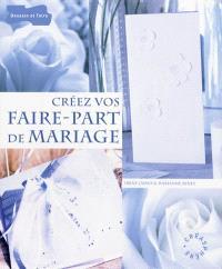 Créez vos faire-part de mariage