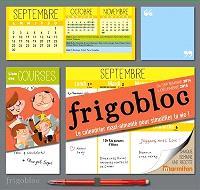 Frigobloc : de septembre 2014 à décembre 2015 : le calendrier maxi-aimanté pour simplifier la vie !