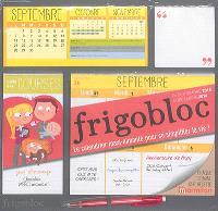 Frigobloc : de septembre 2015 à décembre 2016 : le calendrier maxi-aimanté pour se simplifier la vie !