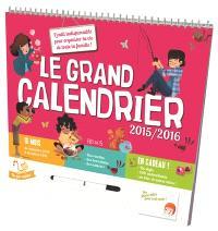 Le grand calendrier 2015-2016