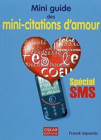 Mini guide des mini-citations d'amour : spécial SMS