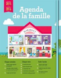 Agenda de la famille : septembre 2015-septembre 2016