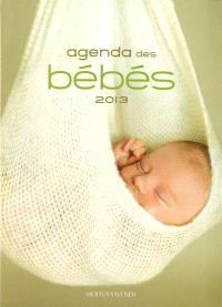 Agenda des bébés 2013
