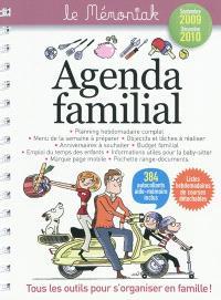 Agenda familial Mémoniak 2010
