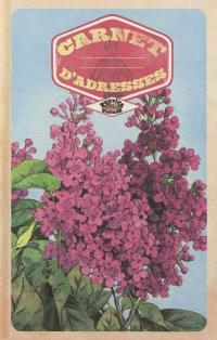 Carnet d'adresses vintage