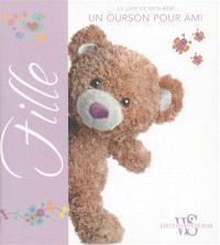 Fille : le livre de mon bébé