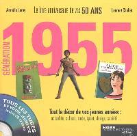 Génération 1955 : le livre anniversaire de vos 50 ans