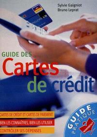 Guide des cartes de crédit