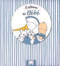 L'album de bébé : bleu