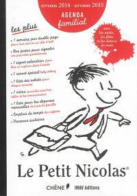 Le Petit Nicolas : agenda familial : septembre 2014-septembre 2015