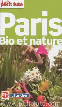 Paris bio et nature : 2012-2013