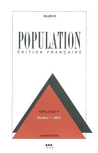 Population. n° 1 (2003)