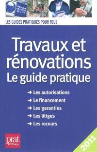 Travaux et rénovations 2011