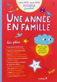 Une année en famille : agenda familial, septembre 2013-septembre 2014