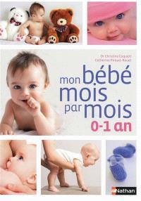 Mon bébé mois par mois : 0-1 an