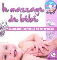 Le massage de bébé : chansons, conseils et exercices