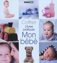 Mon bébé : coffret 3 livres pratiques