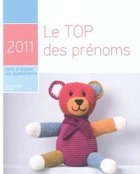 Le top des prénoms 2011