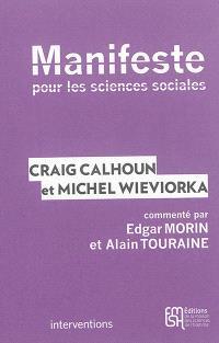Manifeste pour les sciences sociales