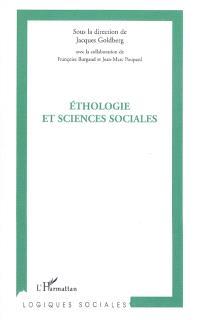 Ethologie et sciences sociales