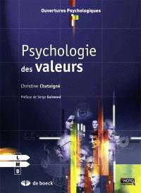 Psychologie des valeurs