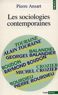 Les Sociologies contemporaines
