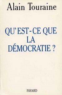 Qu'est-ce que la démocratie ?