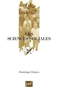 Les sciences sociales
