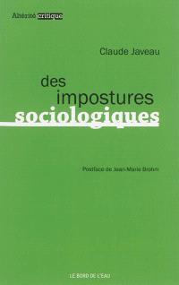Des impostures sociologiques