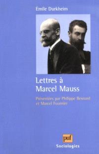 Lettres à Marcel Mauss