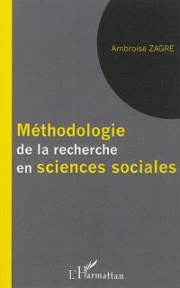 Méthodologie de la recherche en sciences sociales : manuel de recherche sociale à l'usage des étudiants