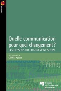 Quelle communication pour quel changement?  : les dessous du changement social
