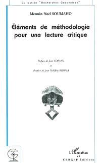 Eléments de méthodologie pour une lecture critique
