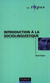 Introduction à la sociolinguistique