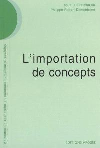 L'importation de concepts