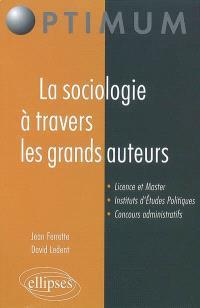 La sociologie à travers les grands auteurs