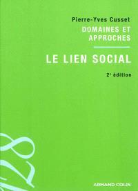 Le lien social : domaines et approches