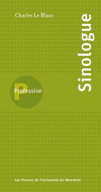 Profession, sinologue