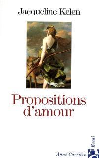 Propositions d'amour