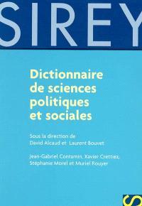 Dictionnaire de sciences politiques et sociales