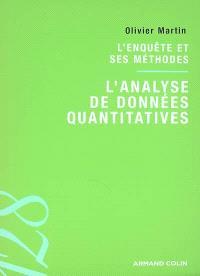 L'analyse de données quantitatives